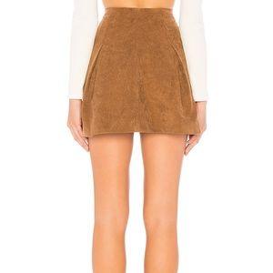 Tularosa Skirts - Tularosa Kendall Skirt in Toffee